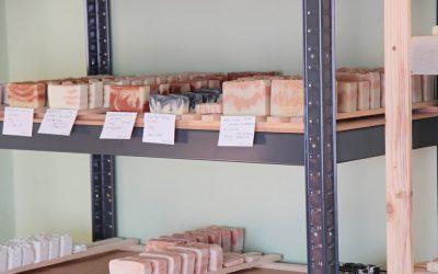 Rozjíždíme mýdlářskou dílničku II. – druhá návštěva hygieny