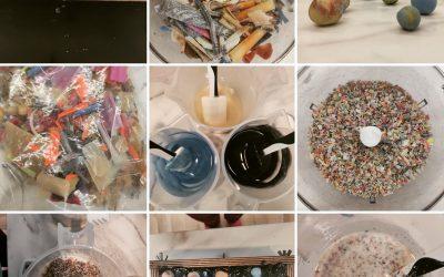 Zpracování odřezků z mýdla